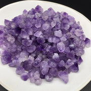 100 Grams Rough Amethyst Tumbled Stones