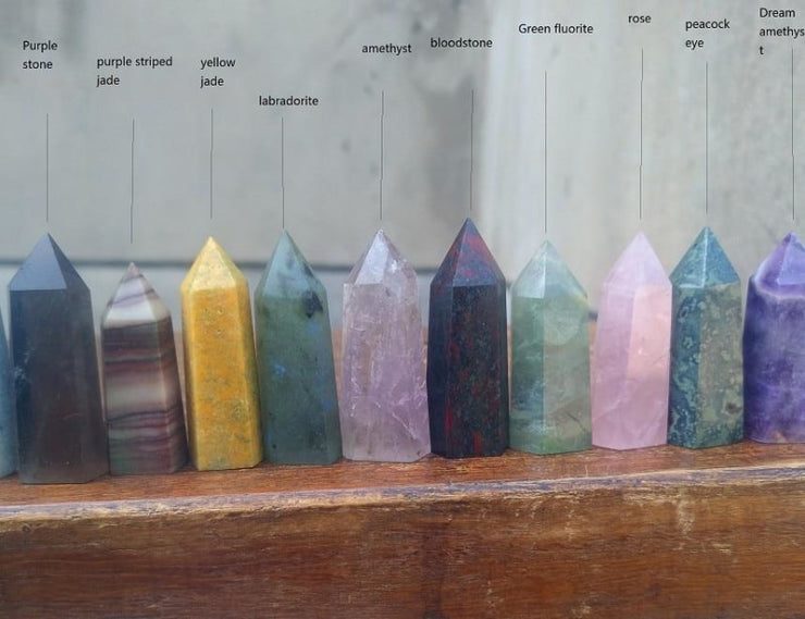 19 Piece Set Gemstone Wands Pack - Wholesale Price!