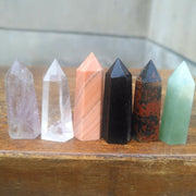 6 Piece Set Gemstone Wands Pack - Wholesale Price!