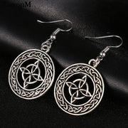 Boho Tibetan Silver Earrings