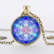Mandala Pendant - $5 PROMO FREE SHIPPING TODAY ONLY - Bronze