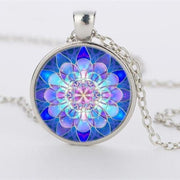 Mandala Pendant - $5 PROMO FREE SHIPPING TODAY ONLY - Silver