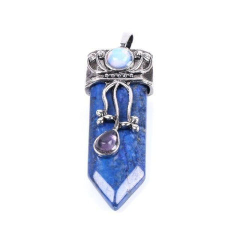 Trinity Gemstone Pendant - $10 PROMO FREE SHIPPING TODAY ONLY