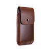 Brown Leather - Barrett 2017 Holster Case for iPhone X - Blacksmith-Labs