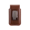 Brown Leather - Barrett 2017 Holster Case for iPhone X