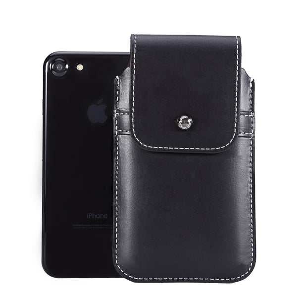 Limited Edition: Barrett 2017 Belt Clip Holster for Apple iPhone 6/6s/7 (4.7 inch screen) - Horween Chromexcel Lapis Blue Leather Finish