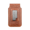 Barrett 2017 Belt Clip Holster for Apple iPhone 6/6s/7 (4.7 inch screen) - Rustic Brown Ostrich Embossed Leather Finish
