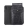 Black Croc Embossed Leather - Barrett 2017 Holster Case for iPhone X