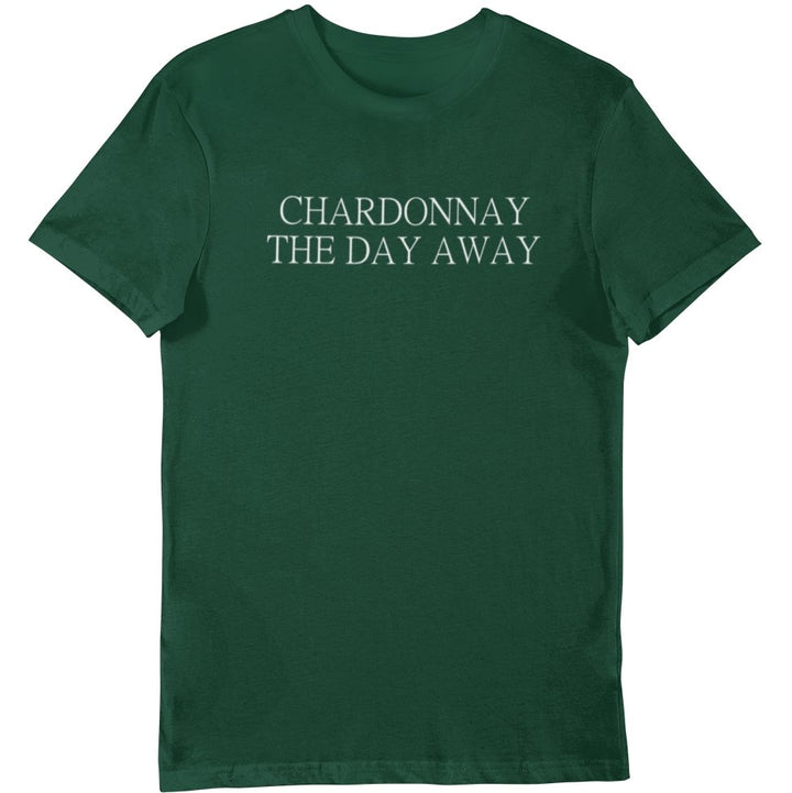 Chardonnay the day away - Bio Shirt Herren - Weinspirits