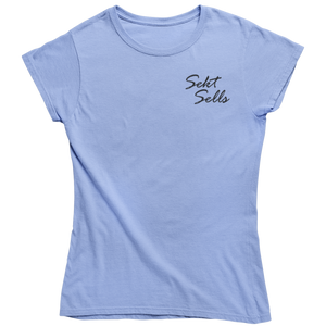 Sekt Sells - Shirt Damen - Weinspirits