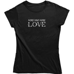 more vino more love - Shirt Damen - Weinspirits