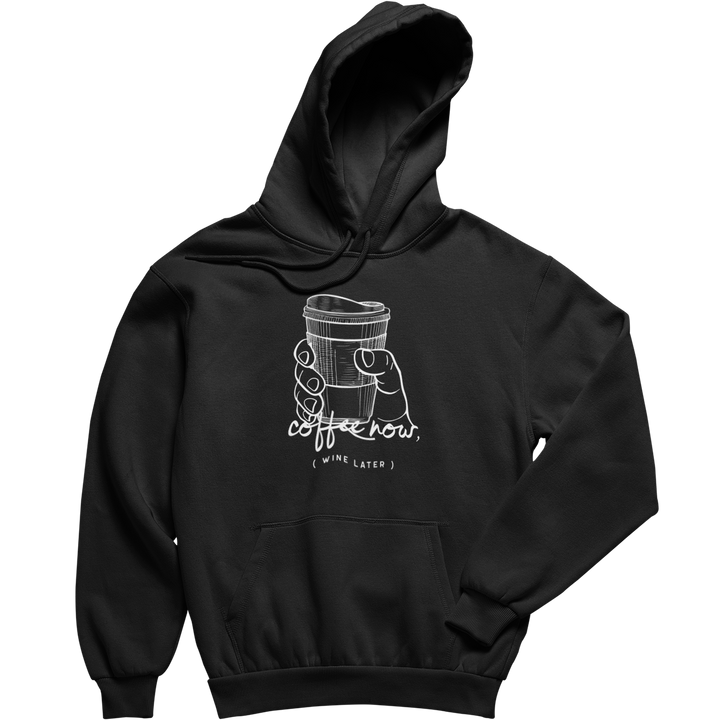 Wine later - Hoodie Unisex - Weinspirits
