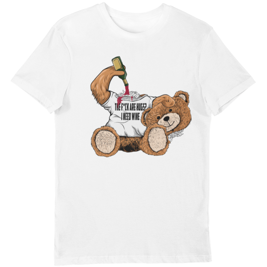 i need wine - Bio Shirt Herren - Weinspirits