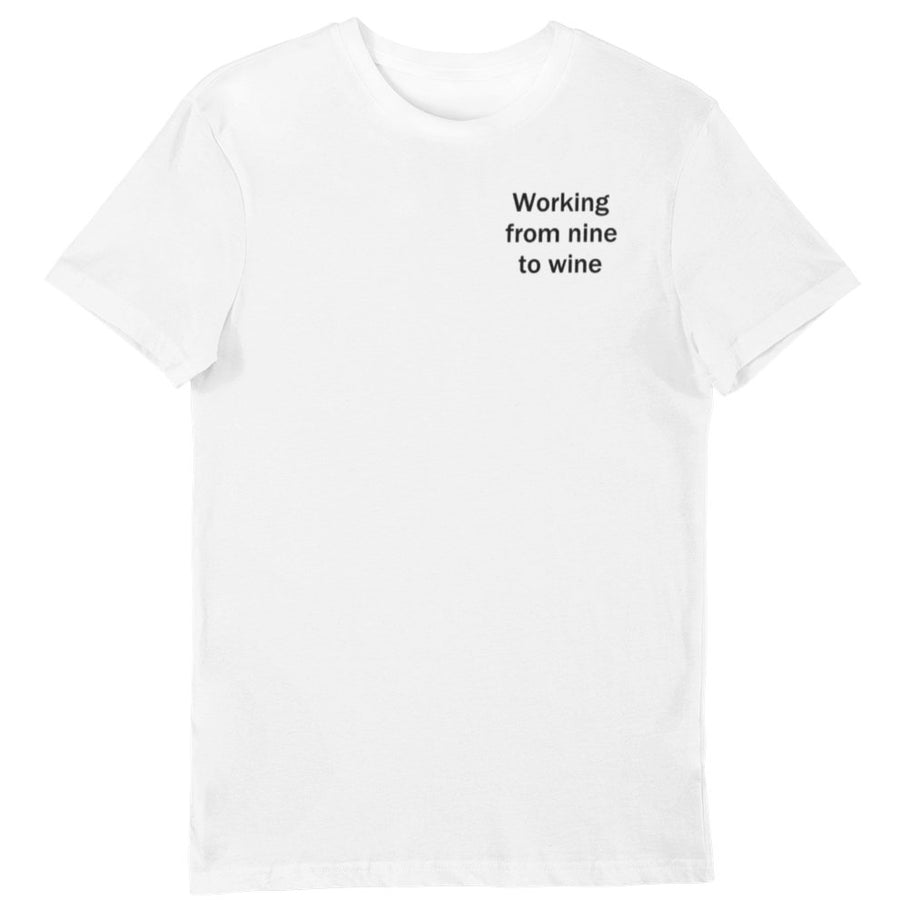 Nine to wine - Shirt Herren - Weinspirits