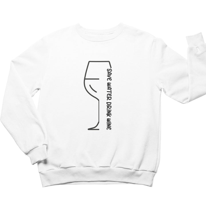 Save Water - Bio Sweatshirt Unisex - Weinspirits