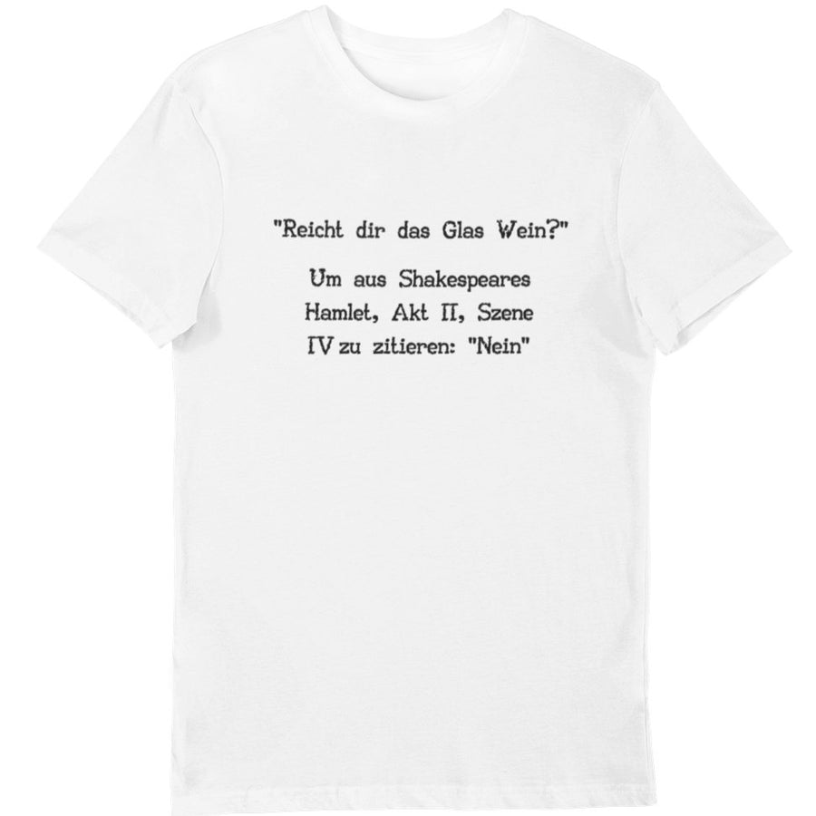Shakespeare - Shirt Herren - Weinspirits