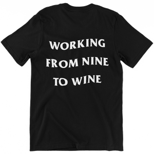 working from nine to wine - Shirt Herren - Weinspirits
