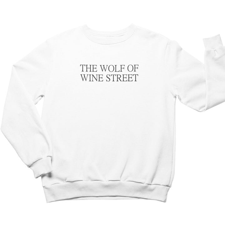 THE WOLF OF WINE STREET - Bio Sweatshirt Unisex - Weinspirits