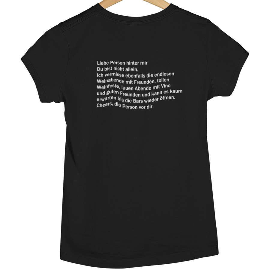 Liebe Person - Shirt Damen - Weinspirits