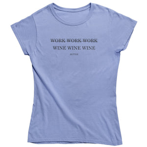 Work Wine - Shirt Damen - Weinspirits