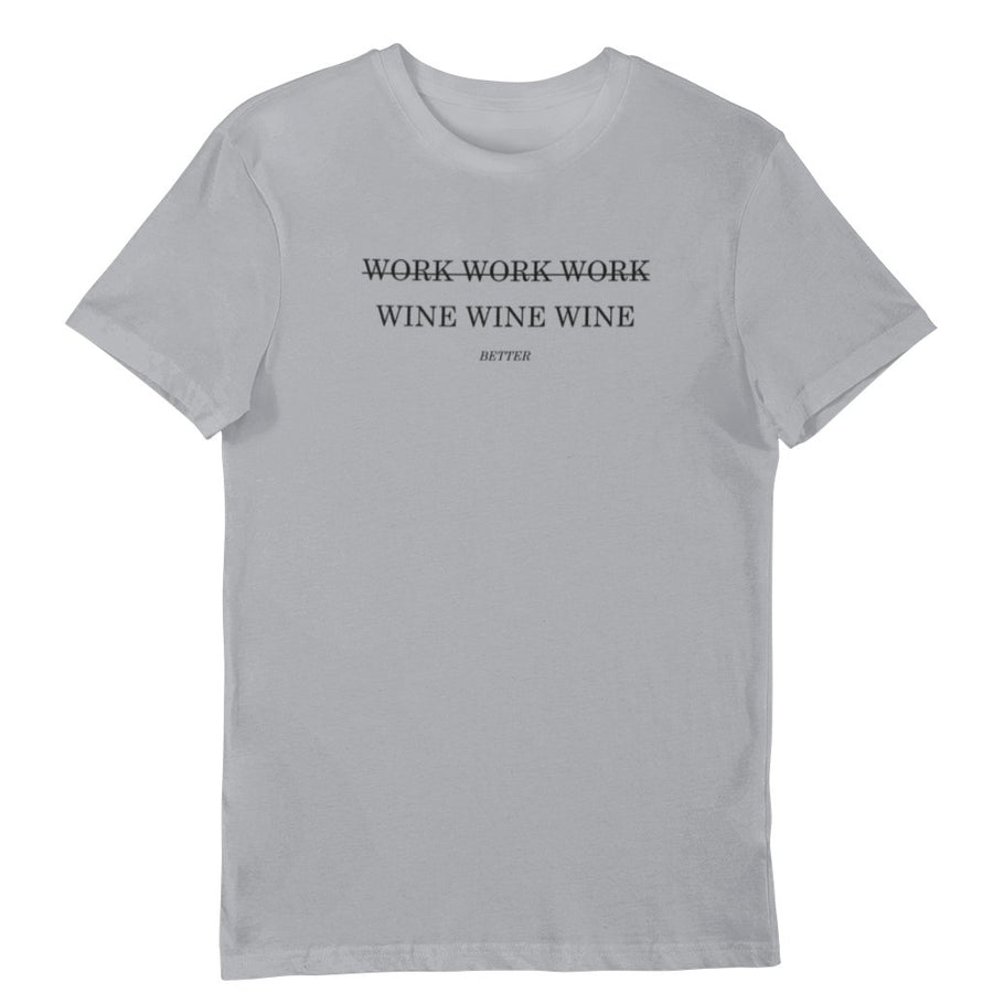 Work Wine - Shirt Herren - Weinspirits