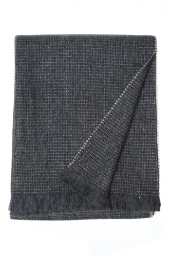 "Linen Way ""Delphi"" Baby Alpaca Throw"
