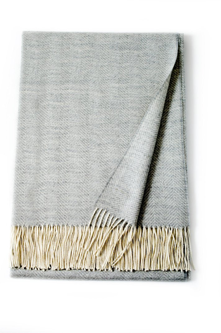 Linen Way 'Montreal' Baby Alpaca Throw 50 X 70""