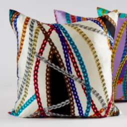 'Chains' Decorative Pillow