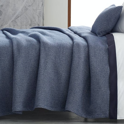Matouk 'Pacific' Coverlet and Shams