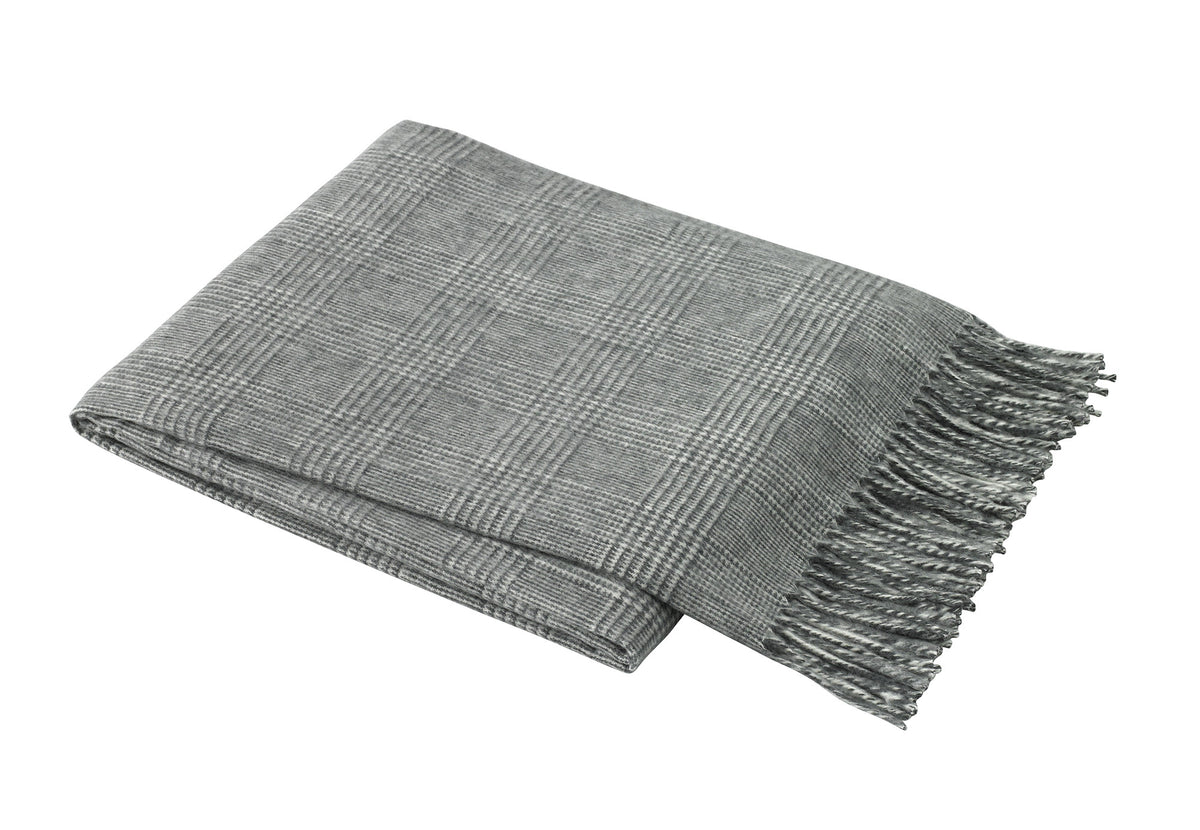 """Gettare"" Italian Herringbone Throw"