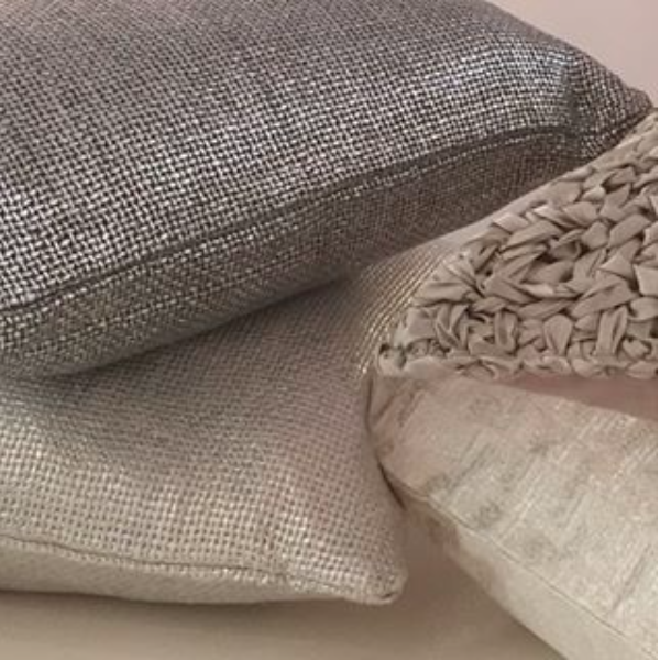 Art of Home Metallic Glaze Throw & Deco Pillow