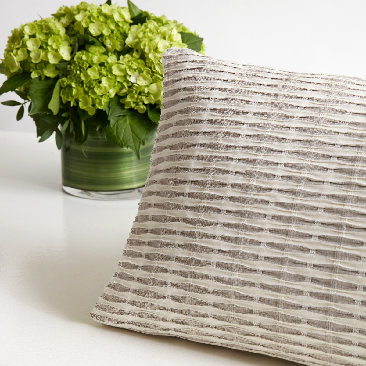 Revelle Linen Weave Coverlet and Shams
