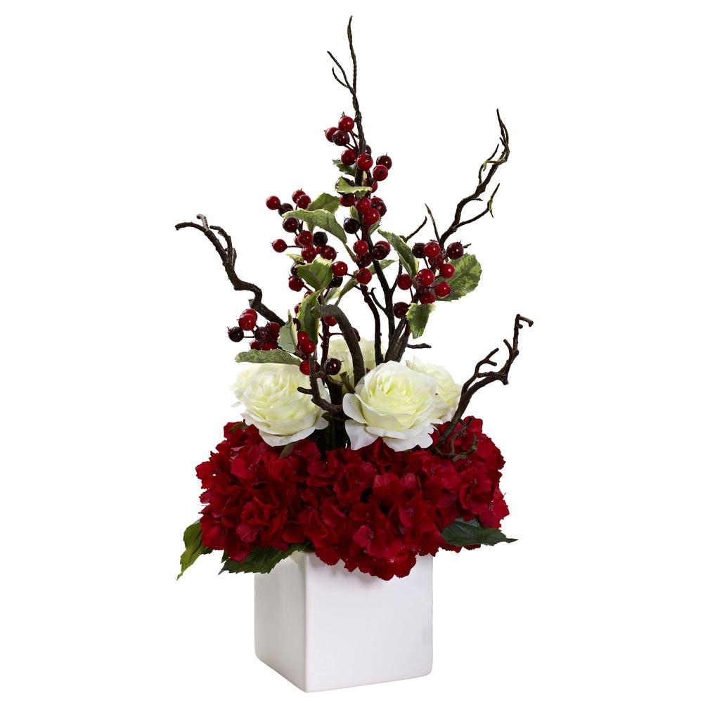 Holiday Cheers Arrangement w/Vase