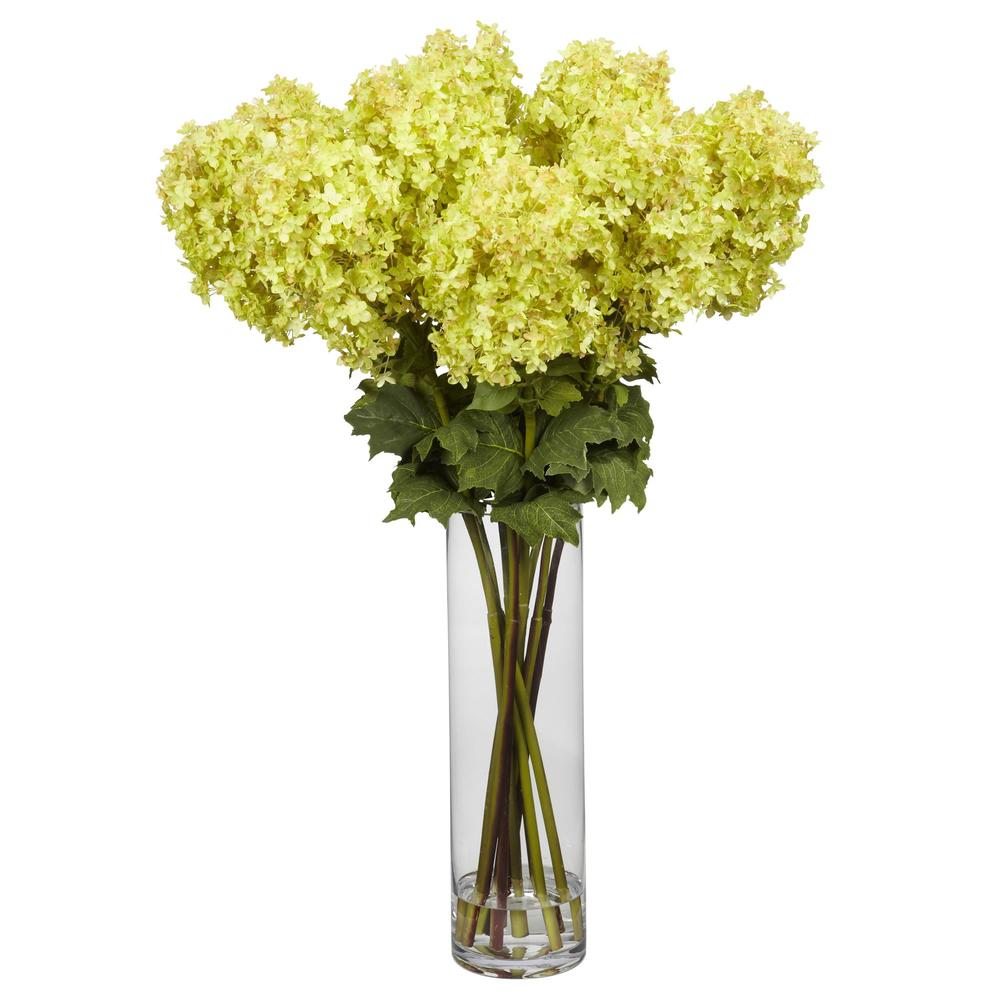 Giant Hydrangea Silk Flower Arrangement Home Staging Warehouse