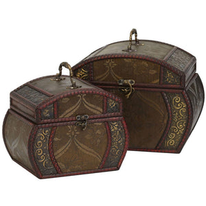 Decorative Chests (Set of 2)