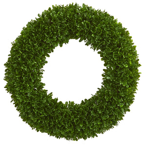 "19.5"" Tea Leaf Wreath UV Resistant (Indoor / Outdoor)"