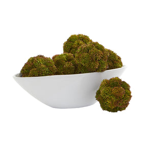 "4"" Sedum Artificial Succulent Artificial Spheres (Set of 6)"