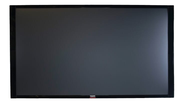 "60"" TV Prop Plasma-LED-LCD TV in Gloss Black with Removable Stand"