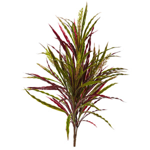"28"" Fall Vanilla Grass Artificial Plant (Set of 3) - Home Staging Warehouse"