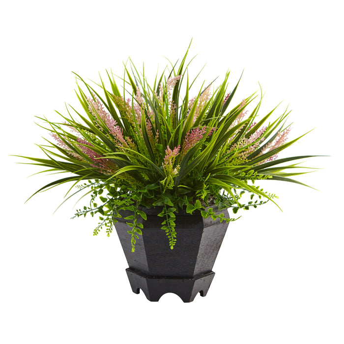 Grass with Planter