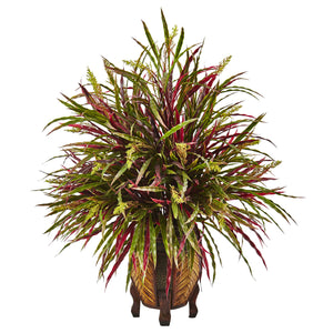 Autumn Grass Arrangement - Home Staging Warehouse