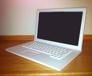 Laptop Prop - Matte White