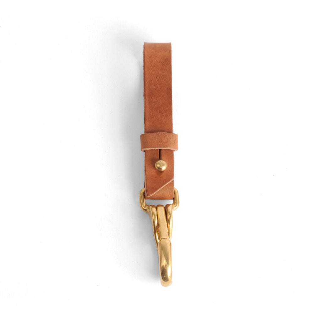 Key Hook - Natural - Brass