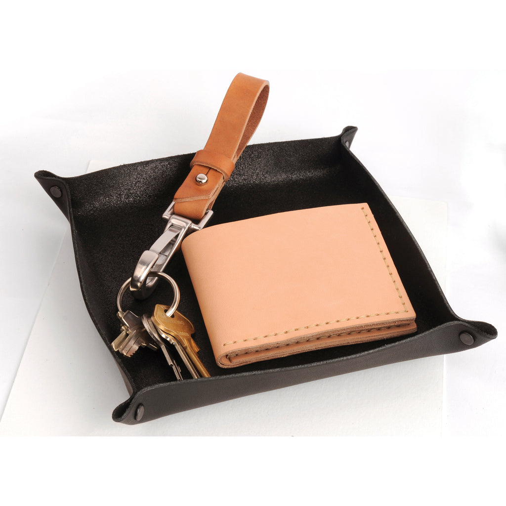 Bi-fold Wallet Natural Veg Tan Leather