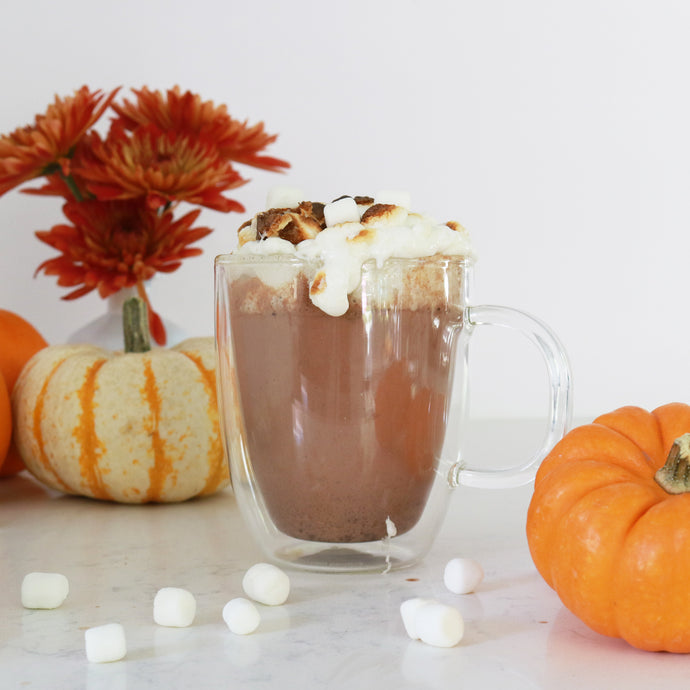 Pumpkin Spice Hot Chocolate