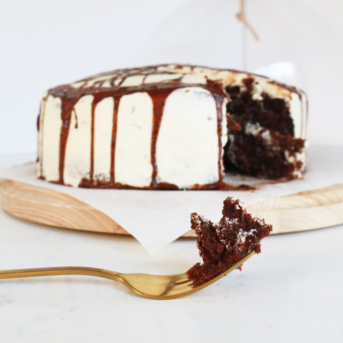 Spicy Maya Stout Cake