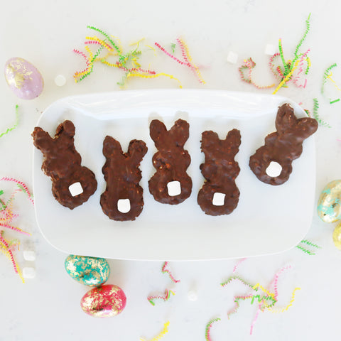 chocolate dipped bunnies
