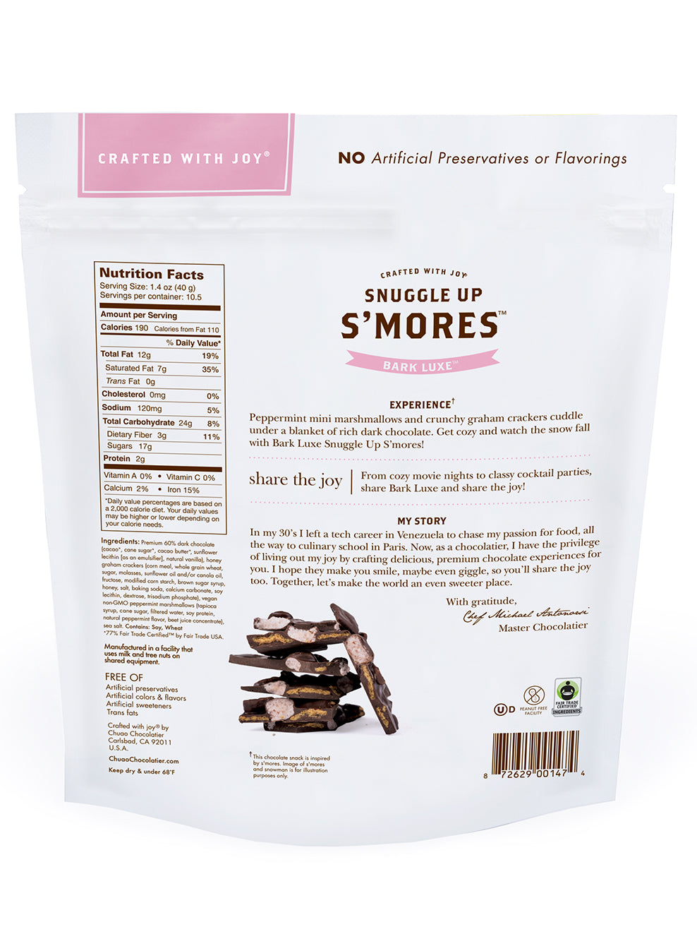Bark Luxe Snuggle Up S'mores