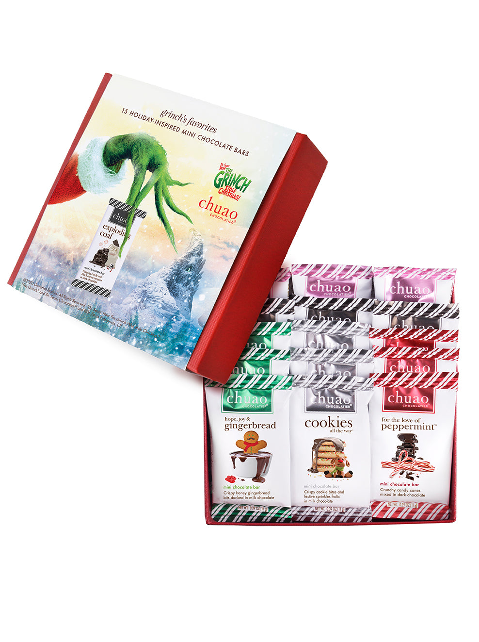 grinch's favorites gift set