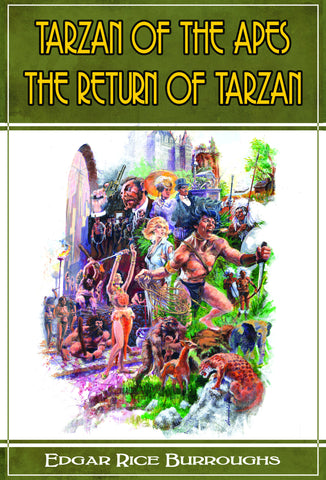 Tarzan of The Apes/The Return of Tarzan